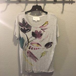 Vince Camuto Women Gray Shirt SZ M